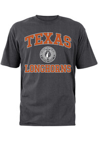 new product 95554 19057 Texas Longhorns Youth Grey Texas Crest T-Shirt
