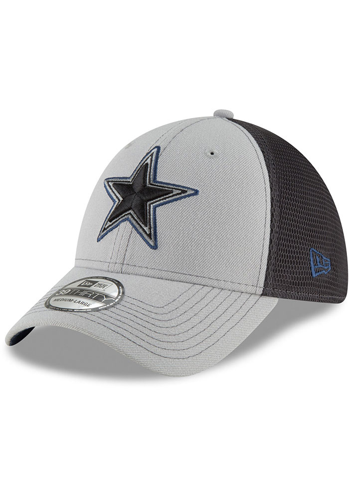 Dallas Cowboys Navy Blue 2T Sided Jr 39THIRTY Youth Flex Hat - Image 1