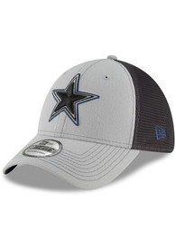 Dallas Cowboys Hats Navy Blue 2T Sided Jr 39THIRTY Youth Flex Hat