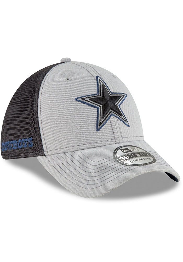 Dallas Cowboys Navy Blue 2T Sided Jr 39THIRTY Youth Flex Hat - Image 2