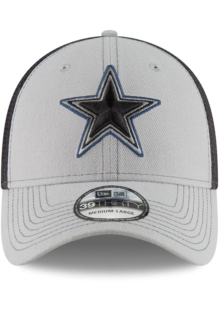 Dallas Cowboys Navy Blue 2T Sided Jr 39THIRTY Youth Flex Hat - Image 3