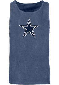 Dallas Cowboys Navy Blue Logo Premier Tank Top