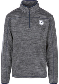 Dallas Cowboys Odin 1/4 Zip Pullover - Charcoal