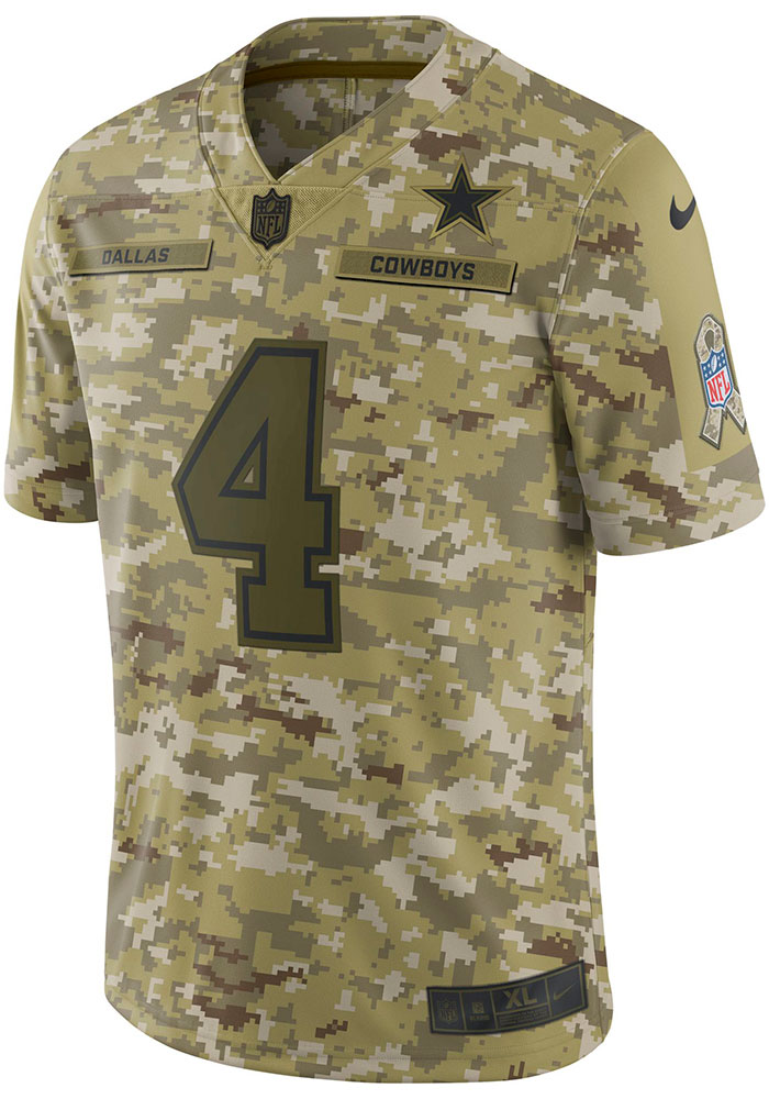 cowboys military jersey