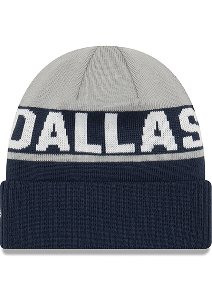 Dallas Cowboys Grey Jr Chilled Youth Knit Hat - Image 2