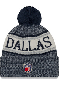4df938f126d Dallas Cowboys Grey NFL18 Sport Knit Hat