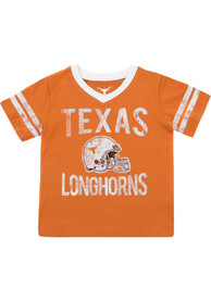 4877f5a74d0 Texas Longhorns Toddler Burnt Orange Lincoln T-Shirt
