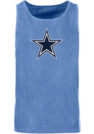 Dallas Cowboys Blue Logo Premier Tank Top