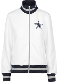 100% authentic 68010 26235 Dallas Cowboys Womens Field Goal Track White Track Jacket