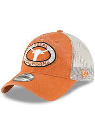 d3a96c422d3 Texas Longhorns Burnt Orange Patched Pride Jr 9TWENTY Youth Adjustable Hat