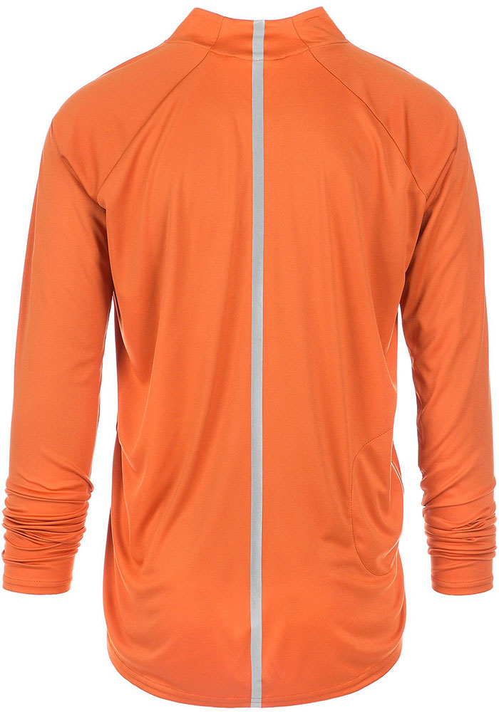 Texas Longhorns Mens Burnt Orange River Long Sleeve 1/4 Zip Pullover - Image 2