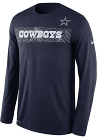 Nike Dallas Cowboys Youth Navy Blue Sideline T-Shirt