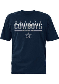 Dallas Cowboys Youth Navy Blue Ruthless T-Shirt