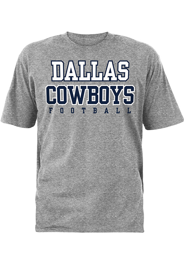 Nike Dallas Cowboys Youth Grey Practice T-Shirt 4565f8823