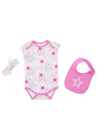 Dallas Cowboys Baby Pink Sissy One Piece