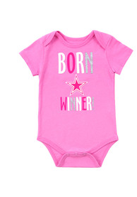 Dallas Cowboys Baby Pink Rascal One Piece