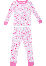 Dallas Cowboys Toddler Girls Golly Top and Bottom Set Pink