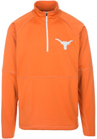 Texas Longhorns Burnt Orange Challenge 1/4 Zip Pullover