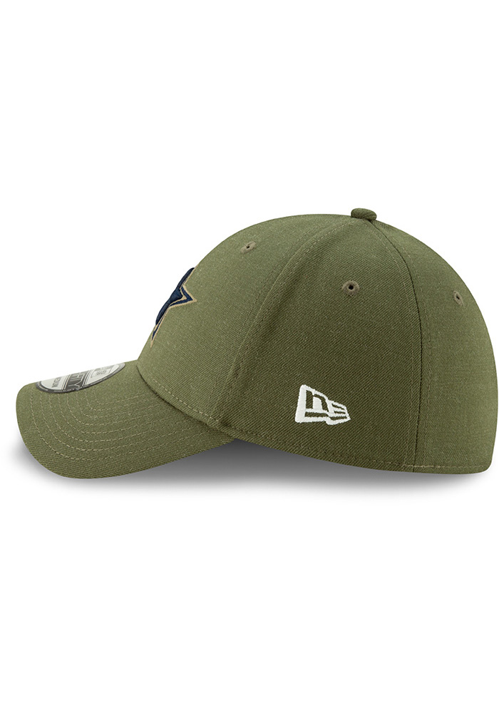 Dallas Cowboys Mens Green Salute to Service 39Thirty Flex Hat - Image 4