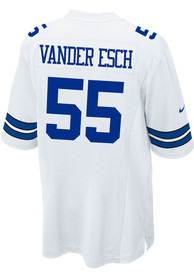 Leighton Vander Esch Dallas Cowboys Dallas Cowboys Apparel Home Game Football Jersey - White