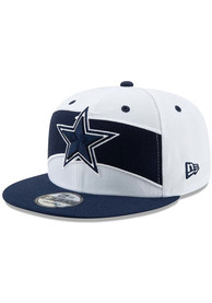 08c1b565f2e988 Dallas Cowboys White Thanksgiving 2018 9FIFTY Snapback Hat