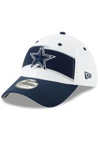 17faf8989ba91e Dallas Cowboys White Thanksgiving 2018 39THIRTY Flex Hat
