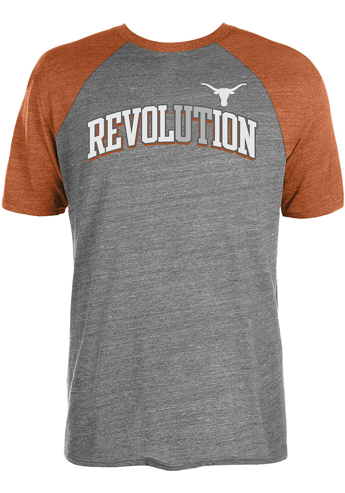 Texas Longhorns Grey Revolution Tee