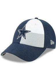 Dallas Cowboys 2019 Draft 9FORTY Adjustable Hat - Navy Blue
