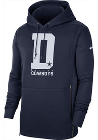 Dallas Cowboys Nike Local Therma Hood - Navy Blue