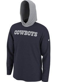 Dallas Cowboys Nike Helmet Hooded Sweatshirt - Navy Blue
