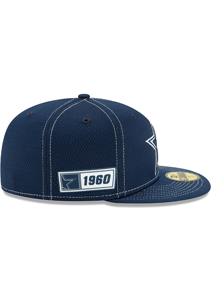 thoughts on sleek cheap for discount Dallas Cowboys Mens Navy Blue NFL19 Official Road Sideline 59FIFTY ...
