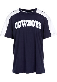 low priced 4388b 3a291 Dallas Cowboys Navy Blue Luther Fashion Tee