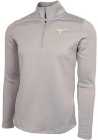 Texas Longhorns Womens Marsh 1/4 Zip Pullover - Grey