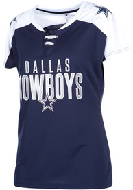 cheap for discount 38347 67314 Dallas Cowboys Womens Paine Fashion Football Jersey - Navy Blue