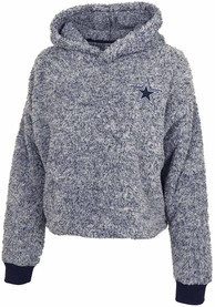 Dallas Cowboys Womens Navy Blue Kiara Hoodie