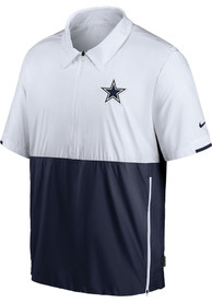 Dallas Cowboys Nike Coach Pullover Jackets - White