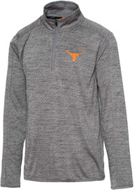 Texas Longhorns Kharkov 1/4 Zip Pullover - Charcoal