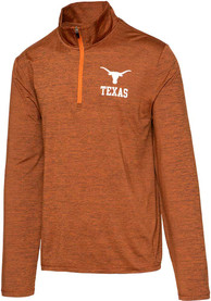 Texas Longhorns Burnt Orange Bolder 1/4 Zip Pullover