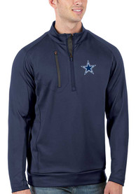 DAL Cowboys M Navy Generation 1/4 Zip