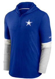 Dallas Cowboys Nike Mascot Historic Fashion Hood - Blue