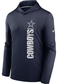 Dallas Cowboys Nike Team Name Stack Hood - Navy Blue