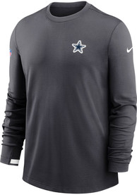 Dallas Cowboys Nike Team Logo Sweatshirt - Grey