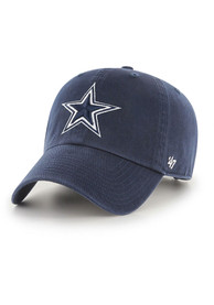 Dallas Cowboys 47 Clean Up Adjustable Hat - Navy Blue