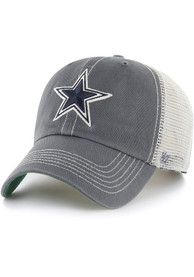 Dallas Cowboys 47 Trawler Clean Up Adjustable Hat - Charcoal