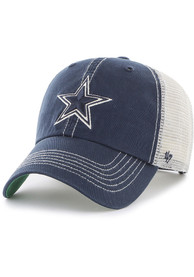Dallas Cowboys 47 Trawler Clean Up Adjustable Hat - Navy Blue