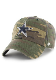 Dallas Cowboys 47 Clean Up Adjustable Hat - Green