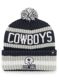 Dallas Cowboys 47 60th Anniversary Bering Cuff Knit - Navy Blue