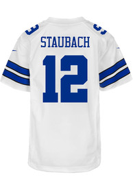 Roger Staubach Dallas Cowboys Youth Nike Game Football Jersey - White