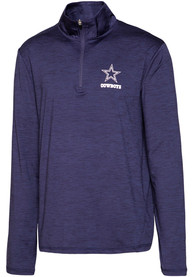 Dallas Cowboys Bolder 1/4 Zip Pullover - Navy Blue