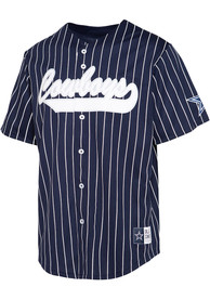 Dallas Cowboys Lou Baseball Jersey - Navy Blue